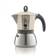 Гейзерная кофеварка  Bialetti Moka Induction gold 6 cups (240 мл.) 4833