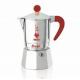 Гейзерная кофеварка Bialetti Break красная 3 порции СЛ
