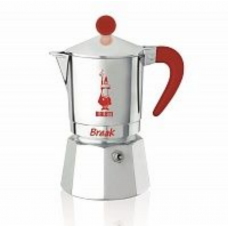 Гейзерная кофеварка Bialetti Break красная 6 порций СЛ