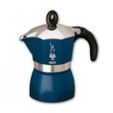 Гейзерная кофеварка Bialetti Dama Glamour 3 порции (синий)