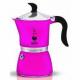 Гейзерная кофеварка Bialetti Fiametta FUCHSIA 3 порции фиолетовая СЛ