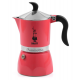 Гейзерная кофеварка Bialetti Fiametta Strawberry 3 порции красная СЛ
