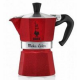 Гейзерная кофеварка Bialetti Moka Express EMOTION RED 3 порции красная СЛ