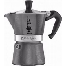 Гейзерная кофеварка Bialetti Moka Express Grey Diamond 6 порций серая СЛ