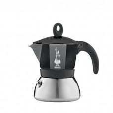 Гейзерная кофеварка Bialetti Moka Induction Black 6 cups (240 мл.) 4813