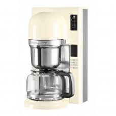 Капельная кофеварка KitchenAid кремовая 5KCM0802EAC