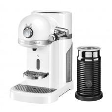 Капсульная кофемашина KitchenAid Nespresso  морозный жемчуг и Aeroccino 3 5KES0504EFP