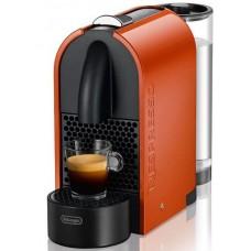 Капсульная кофеварка DeLonghi NESPRESSO U EN 110 оранжевая