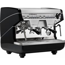 Кофемашина рожковая профессиональная Nuova Simonelli Appia II Compact 2Gr V 220V black+economizer арт. 99291
