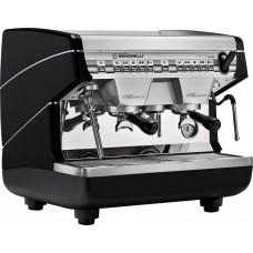 Кофемашина рожковая профессиональная Nuova Simonelli Appia II Compact 2Gr V 220V black+economizer+high арт. 99293