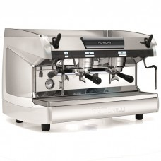 Кофемашина рожковая профессиональная Nuova Simonelli Aurelia II 2Gr S 380V pearl white+LED+cup warmer арт. 101496