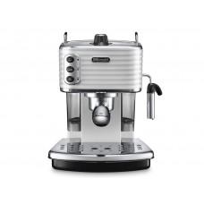Рожковая кофеварка DeLonghi Scultura ECZ 351.W